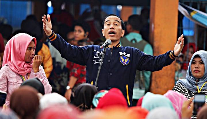Ibu-Ibu di Samosir Kompak Doakan Jokowi 2 Periode - Warta Ekonomi