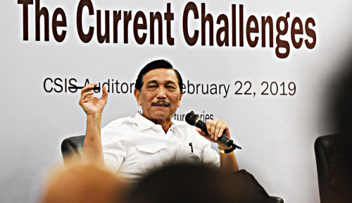 Foto Kabinet Jokowi Jilid II, Kok Nama Luhut Nggak Ada?