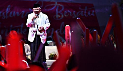Foto Ma'ruf Amin Diragukan Sebagai Ulama Besar? Itu Mengherankan