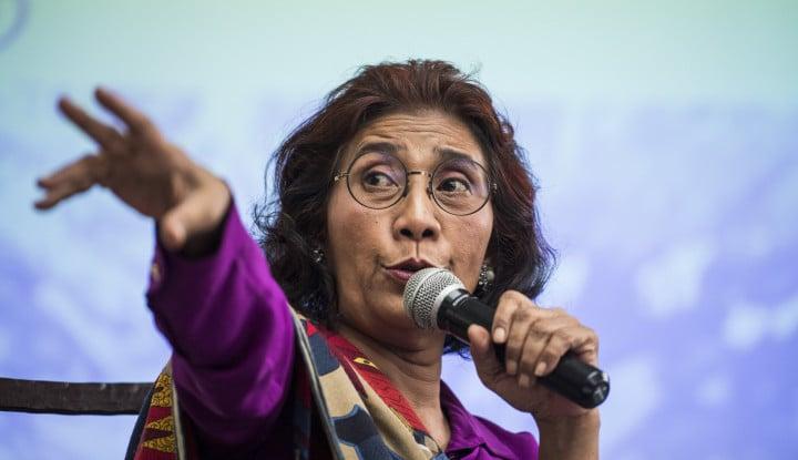 18 Agustus, Menteri Susi Ajak Masyarakat Bersih-Bersih Laut di 74 Titik Indonesia - Warta Ekonomi