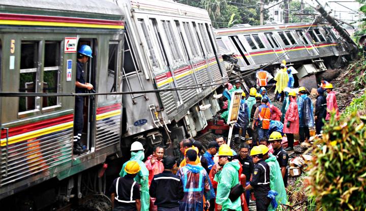 17 Orang Jadi Korban Luka Kecelakaan KRL Anjlok di Bogor - Warta Ekonomi