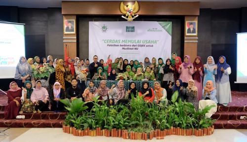 Foto Go-Jek Latih 150 UMKM Binaan Muslimat NU