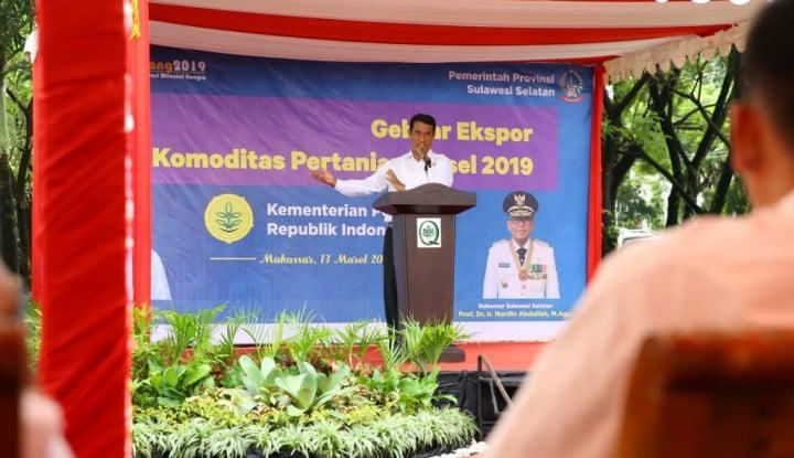 Dorong Komoditas Ekspor Pertanian Indonesia, Kementan Luncurkan Aplikasi I-MACE - Warta Ekonomi