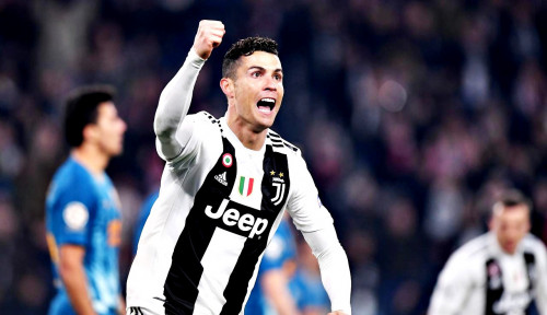 Ronaldo Makin Kukuh Duduki Runner Up Top Skor Liga Italia