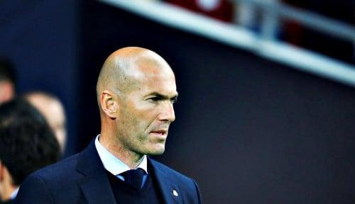 Foto Laga Hidup Mati, Zidane Minta Madrid Main Habis-habisan Lawan Levante