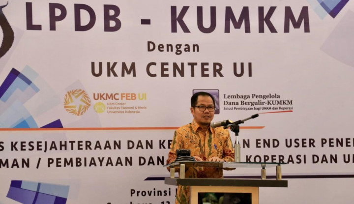 Gandeng UKM Center UI, LPDB KUMKM Ukur Manfaat Dana Bergulir - Warta Ekonomi