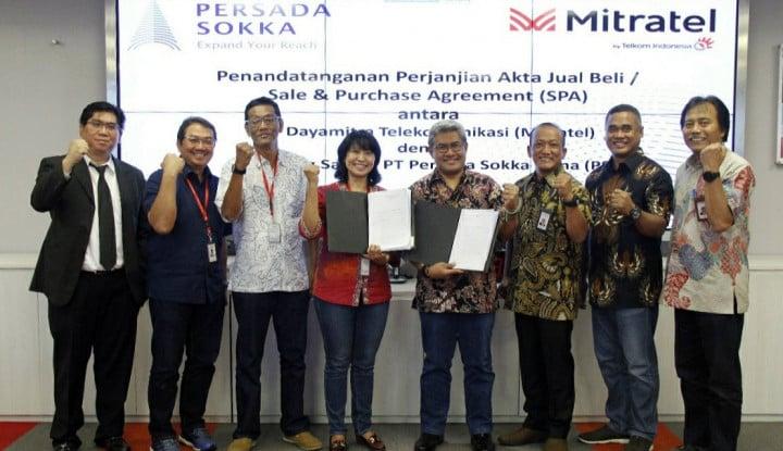 Telkom Indonesia Akuisisi 95% Saham PT Persada Soka Tama - Warta Ekonomi