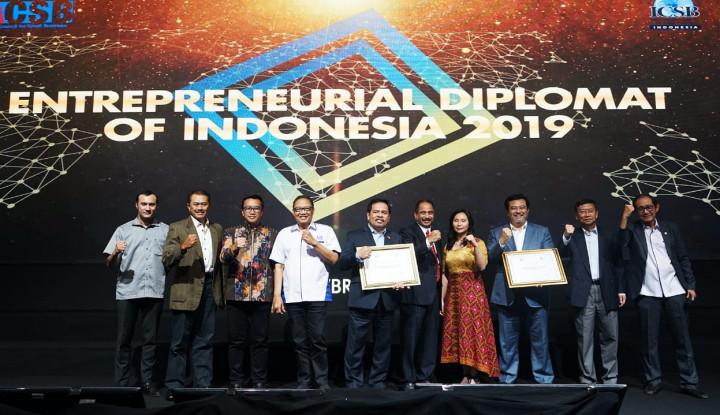 ICSB Berikan Penghargaan Entrepreneurial Diplomat of Indonesia Award 2019 - Warta Ekonomi