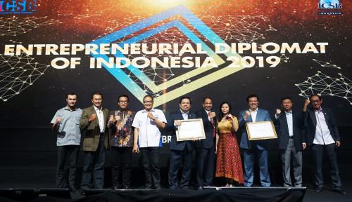 Foto ICSB Berikan Penghargaan Entrepreneurial Diplomat of Indonesia Award 2019