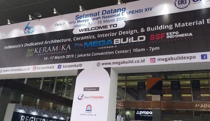 500 Merek Berpartisipasi di Megabuild Indonesia & Keramika 2019, Catat Tanggalnya! - Warta Ekonomi