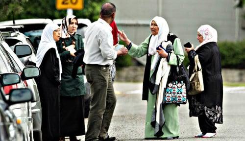 Foto Masya Allah! Ayah dan Anak Asal Indonesia Jadi Korban Penembakan Brutal di Selandia Baru