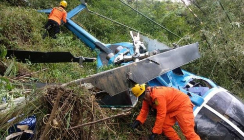 Innalillahi! Helikopter TNI Jatuh di Kendal, Kesaksian Warga Bikin Merinding Parah!