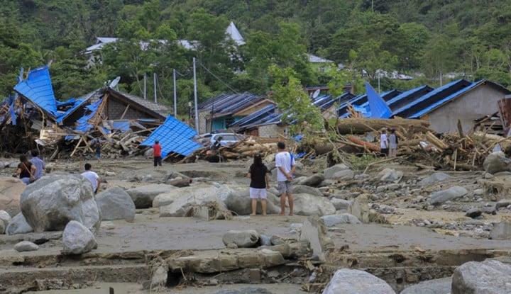 Apa Penyebab Terjadinya Banjir Bandang Sentani? - Warta Ekonomi