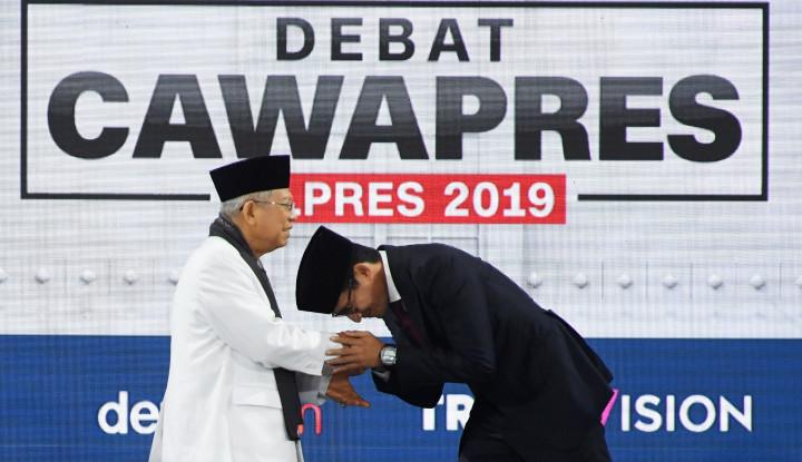 Usai Jokowi-Prabowo, Ma'ruf-Sandi Juga Ingin Bersua