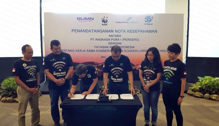 AP I dan WWF-Indonesia Kerja Sama Dukung Konservasi dan Edukasi Lingkungan Hidup - Warta Ekonomi