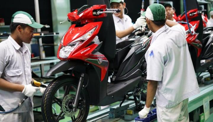 Ekspor Sepeda Motor AHM Melonjak 122% pada Februari 2019 - Warta Ekonomi