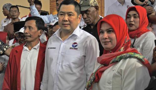 Foto Jokowi Akui Perindo Menang di Udara, Kalau di Darat?