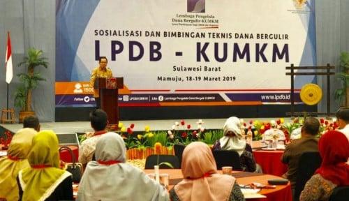 Foto LPDB: Target Dana Bergulir di Sulbar Tersalurkan Rp100 Miliar