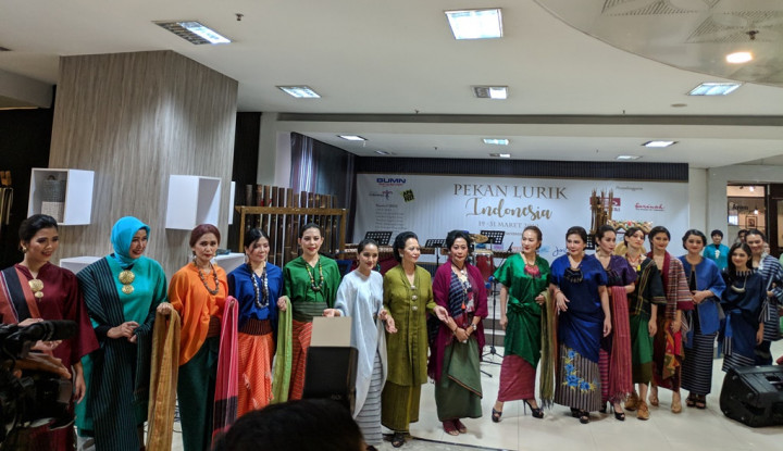 Dukung UMKM, Sarinah Adakan Pekan Lurik Indonesia - Warta Ekonomi