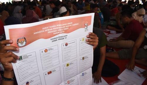 Foto Unggah Data Pileg di Situng, KPU Jabar Jadi Provinsi Paling Lelet se-Indonesia
