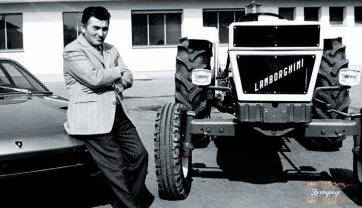 Pernah Dihina Ferarri, Pendiri Lamborghini Sakit Hati