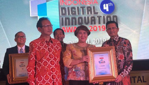Foto Berkat Inovasi E-Ticketing, Damri Raih Penghargaan Indonesia Digital Innovation Award 2019