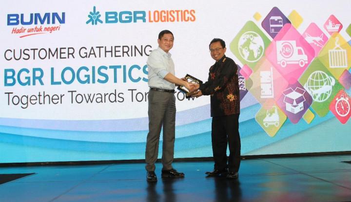 Kiat Menghadapi Disrupsi Ala BGR Logistic - Warta Ekonomi