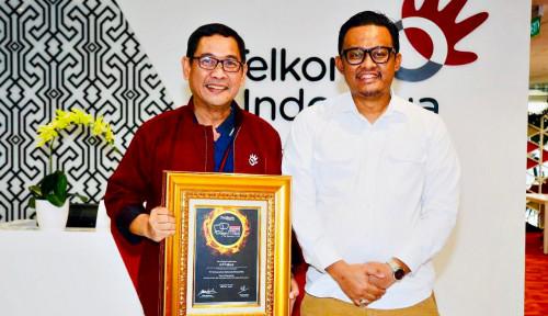 Foto Arif Prabowo Telkom Raih Gelar Spokesperson of The Year