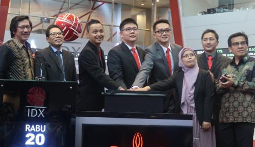 Foto Perdana Masuk Bursa, Saham COCO Melejit 69,7%