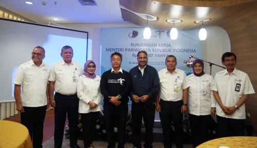 Foto AirNav Indonesia Terus Dukung Peningkatan Pariwisata, Menpar Beri Apresiasi