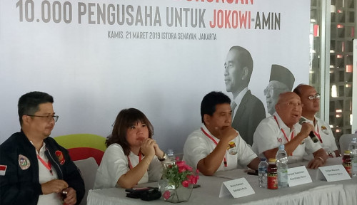 Foto Wow, 10 Ribu Pengusaha Siap Deklarasi Dukung Jokowi