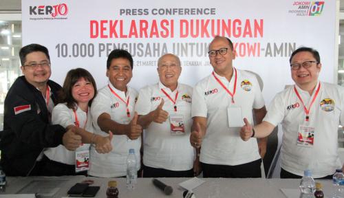 Foto Bos Rosan Minta Para Pengusaha Instruksikan Karyawannya Coblos Jokowi