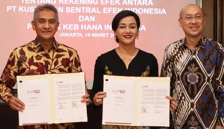 Bank KEB Hana Resmi Menjadi Bank Kustodian - Warta Ekonomi