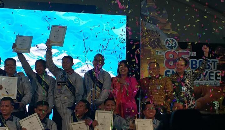 Berkinerja Baik, 1.093 Karyawan ISS Diganjar Penghargaan - Warta Ekonomi