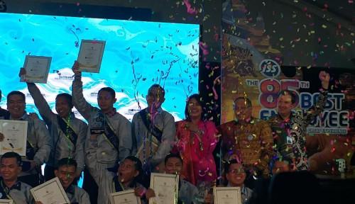 Foto Berkinerja Baik, 1.093 Karyawan ISS Diganjar Penghargaan
