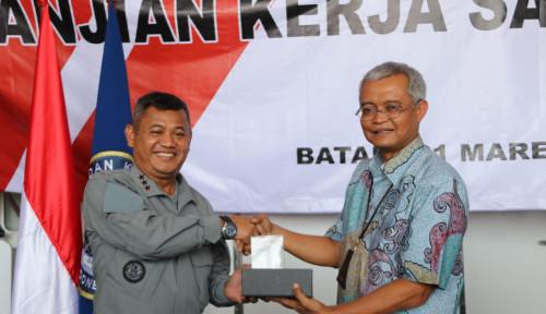 Foto Awasi Sistem Komunikasi Kabel Laut, Telkom Indonesia Gandeng Bakamla