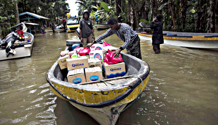 Banjir Besar Melanda, 411 Keluarga Jadi Korban - Warta Ekonomi