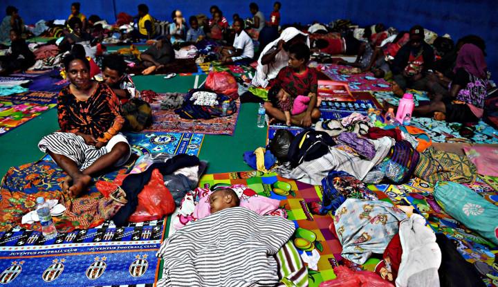 Pengungsi Banjir Sentani Capai 11 Ribu Lebih - Warta Ekonomi