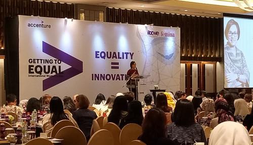 Foto Rayakan International Womens Day, Accenture Perkuat Riset Mengenai Kesetaraan Gender
