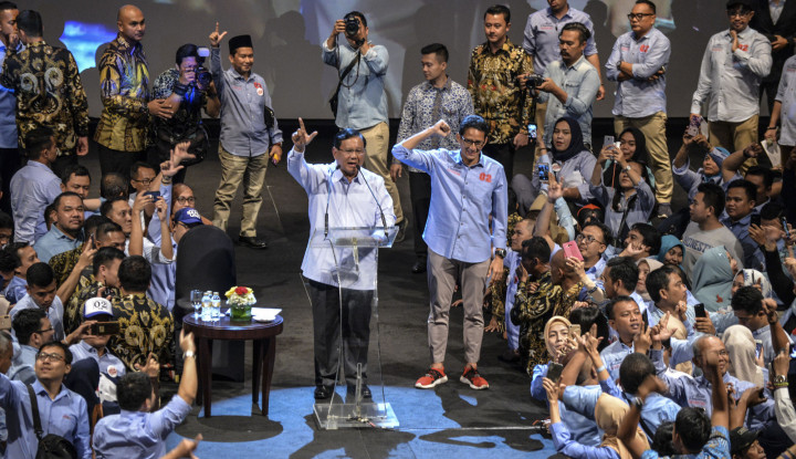 Tertarik Gagasan Prabowo-Sandi, Ratusan Milenial Tetapkan Pilihan