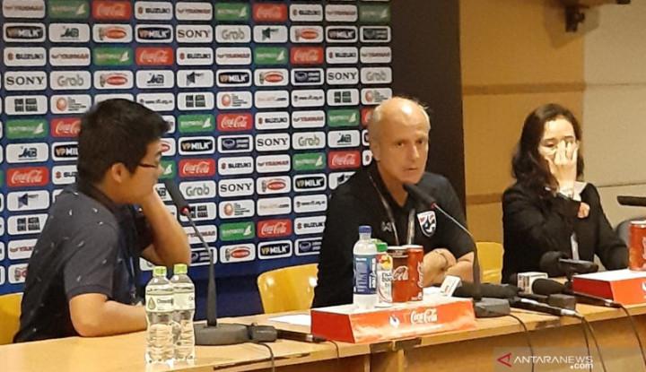Bantai Timnas U-23, Pelatih Thailand Sesumbar Begini - Warta Ekonomi