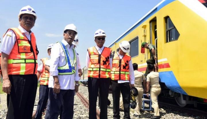 Hore!!! Kereta Api Makassar-Parepare Beroperasi Tahun Depan - Warta Ekonomi