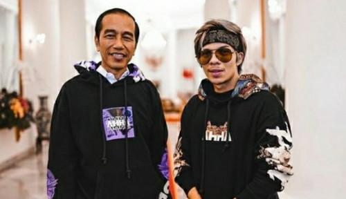 Foto Jokowi Ketemu Atta Halilintar, BPN Nggak Ashiap?