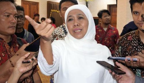 Foto Khofifah jadi Saksi Kasus Korupsi