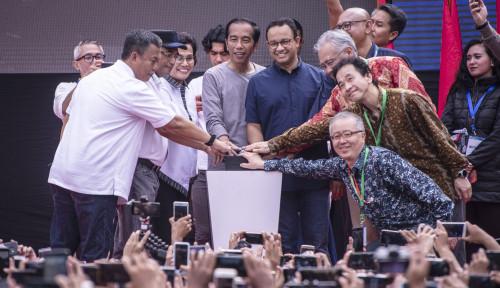Foto Diperesmian MRT, Anies Sebut Nama Ahok