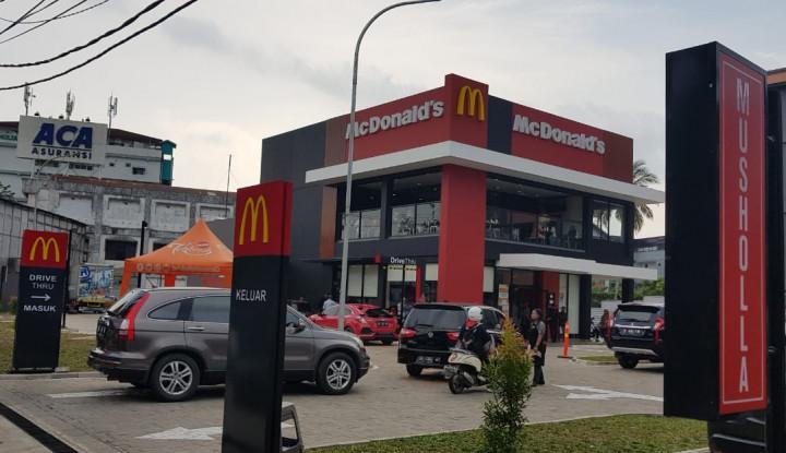Pangkas Antrean, Kios Baru McDonald's Dilengkapi Self Ordering - Warta Ekonomi