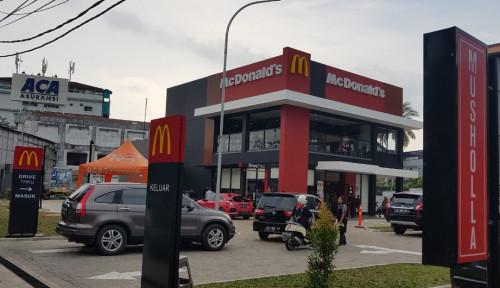 Foto Pangkas Antrean, Kios Baru McDonald's Dilengkapi Self Ordering