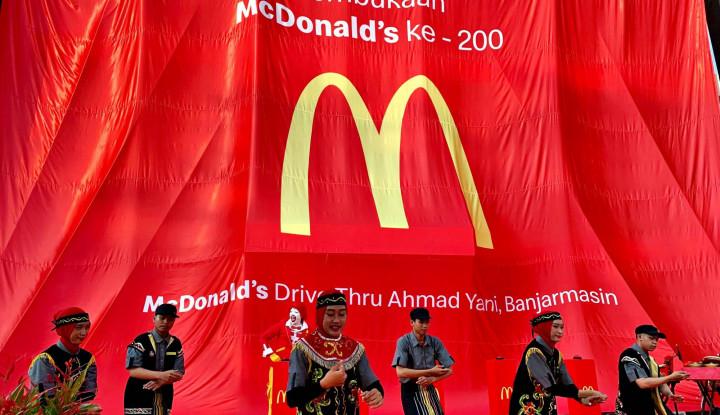 McDonald's Membuka Gerai Baru di Banjarmasin - Warta Ekonomi