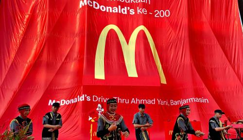 Foto McDonald's Membuka Gerai Baru di Banjarmasin