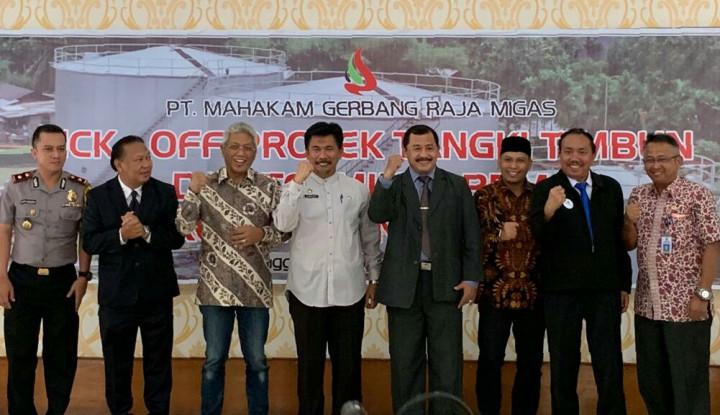 PT MGRM Kukar Tengah Fokus Jalankan Proyek Tangki Timbun dan Terminal BBM - Warta Ekonomi